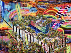 Impossible Island No2 by Eunjeong Choi contemporary artwork