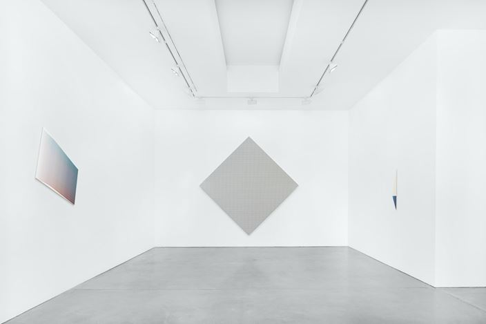 Exhibition view: Jonas Weichsel, Unit, Galerie Thomas Schulte, Berlin (25 July–29 August 2020). Courtesy Galerie Thomas Schulte. Photo: Stefan Haehnel.