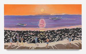 Sepak Bola by Adam De Boer contemporary artwork painting