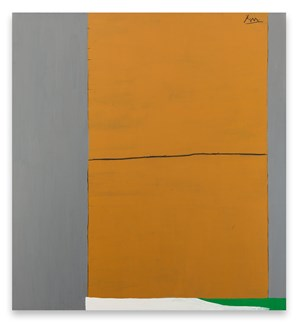 Open No. 2: In Ochre and Grey by Robert Motherwell contemporary artwork