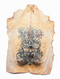 Untitled (Hate) by Wim Delvoye contemporary artwork mixed media