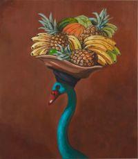 Foreign Liason by Joanna Braithwaite contemporary artwork painting