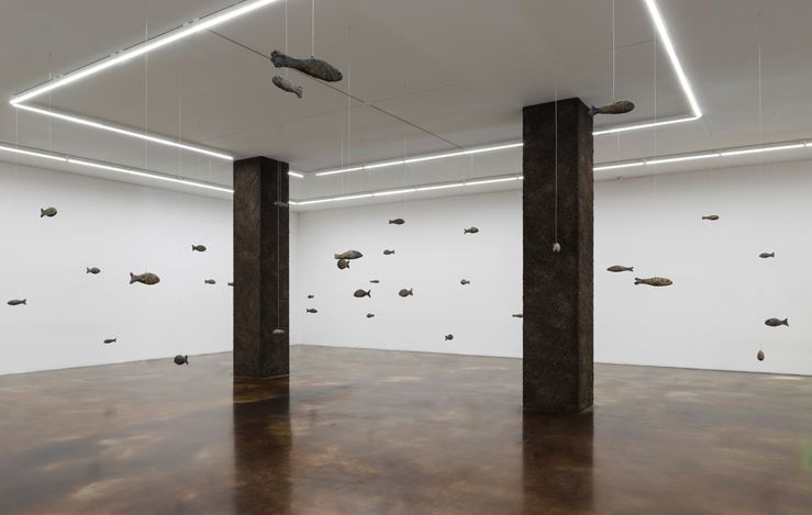 Exhibition view: Ugo Rondinone, earthing, Kukje Gallery, K3, Seoul (16 May–30 June 2019). Image provided by Kukje Gallery.