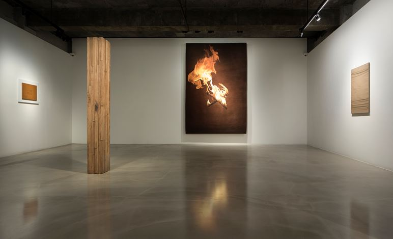 Installation view of 'In Lieu of Higher Ground', Gallery Baton, Seoul, 2020