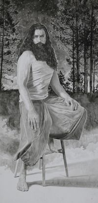 Anthony by Hans Op de Beeck contemporary artwork painting, works on paper