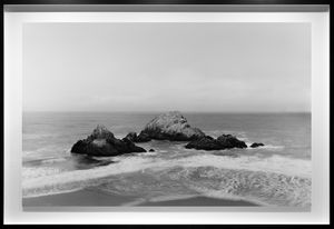 Seal Rocks by Richard Learoyd contemporary artwork