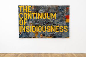 untitled 2020 (the continuum of insidiousness) (map, 1963) by Rirkrit Tiravanija contemporary artwork