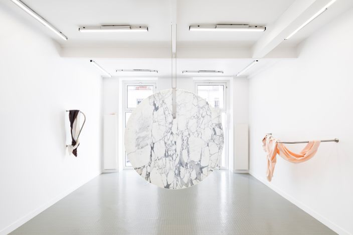 Dana-Fiona Armour, Installation view All Too HumanCourtesyAndréhn-Schiptjenko, Paris.© Alexandra de Cossette