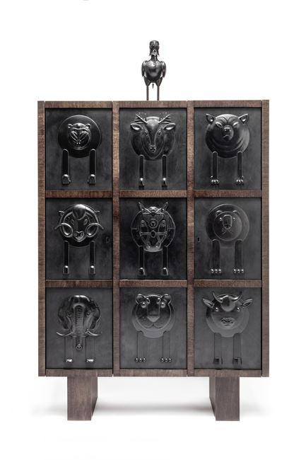 Sumer Great Cabinet by Jean-Marie Fiori contemporary artwork