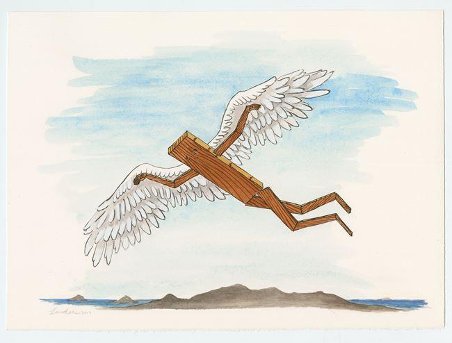 Plankboy (Daedalus) by Sean Landers contemporary artwork