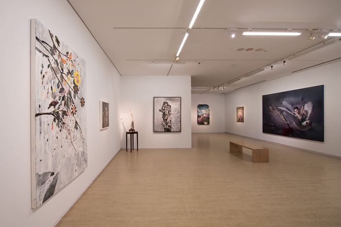 Exhibition view: Group Exhibition, Zero Loop 零度迴路, Lin & Lin Gallery, Taipei (4 July–22 August 2020). Courtesy Lin & Lin Gallery.