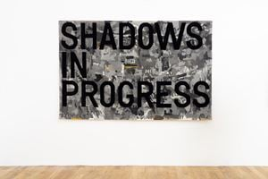 untitled 2020 (shadows in progress) (map, 1962-63) by Rirkrit Tiravanija contemporary artwork