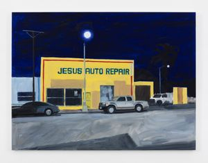 Jesus Auto Repair by Jean-Philippe Delhomme contemporary artwork