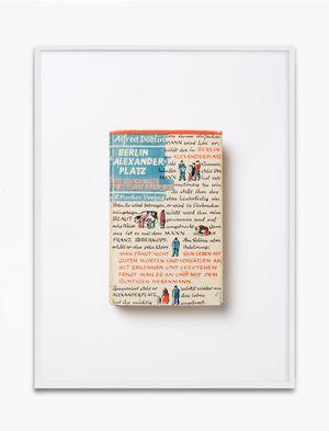 Alfred Döblin, Berlin Alexanderplatz. Die Geschichte vom Franz Biberkopf, 1931, S. Fischer Verlag, Berlin, Einbandgestaltung von Georg Salter by Annette Kelm contemporary artwork print