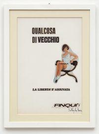 Qualcosa di vecchio by Ketty La Rocca contemporary artwork works on paper