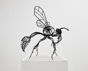 Wasps #5 by Kalliopi Lemos contemporary artwork