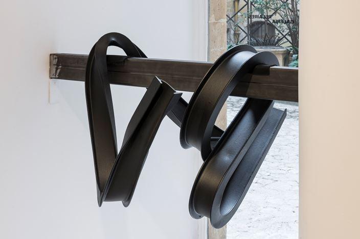Exhibition view: Rafa Munárriz,Espacios Que Estructuran Acciones, Galeria Pelaires, Palma (20 December 2019–3 March 2020). Courtesy Galeria Pelaires. Photo: Roberto Ruiz.