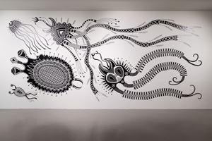 Virus Series by Cemelesai Takivalet contemporary artwork
