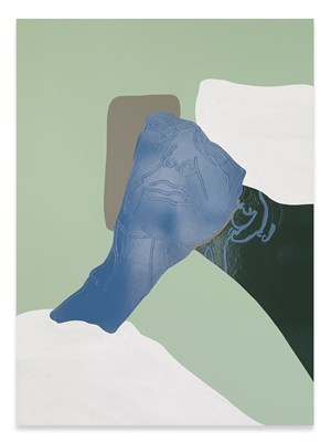 Mum in Bed by Gary Hume contemporary artwork