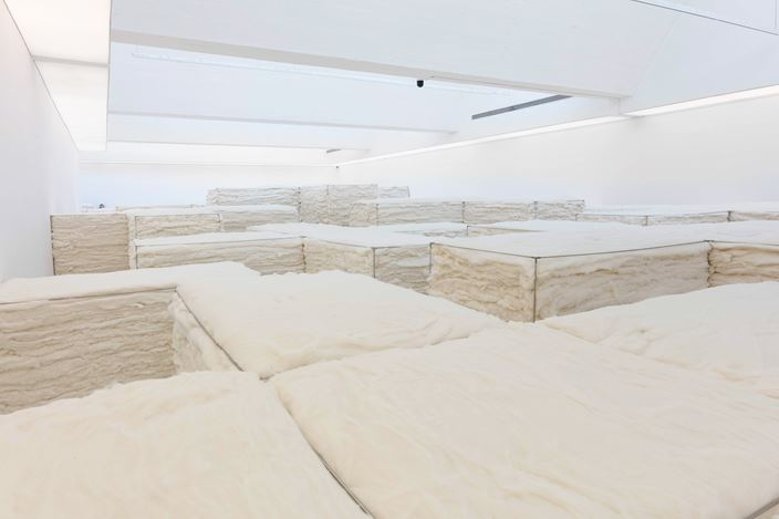 Exhibition view: Zhao Zhao, White, Tang Contemporary, Beijing 2nd Space (20 May–30 June 2020). Courtesy Tang Contemporary.
