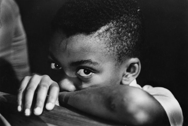 Church kid, Tuskegee, Alabama by Chester Higgins contemporary artwork