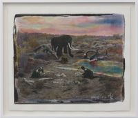 Silk Road #3 by Chen Nong contemporary artwork mixed media