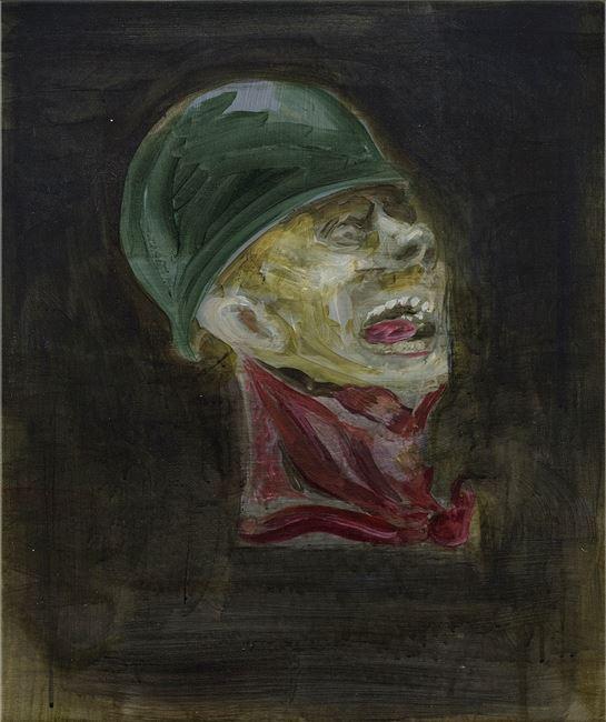 Study for Head No. 3 頭的習作 No. 3 by Sawangwongse  Yawnghwe contemporary artwork
