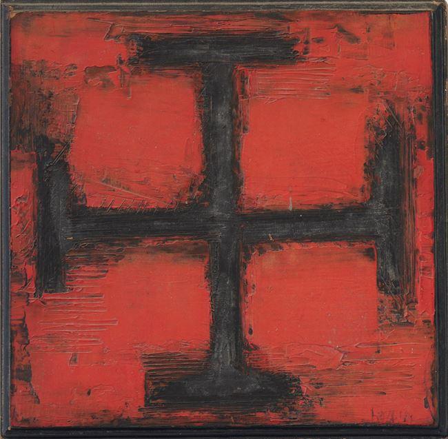 La Croix by S.H. Raza contemporary artwork