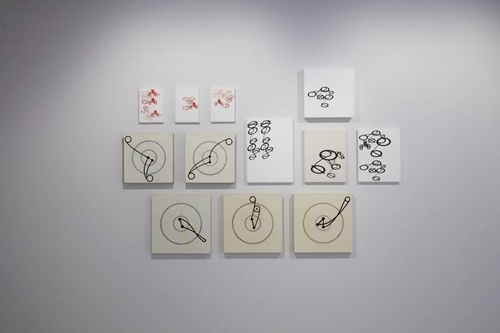 SANG NAM LEE, 4-fold landscape, Exhibition view at PKM Gallery, Seoul. Image courtesy of the artist and PKM Gallery.