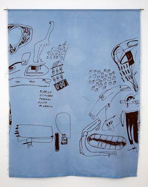 Meses (Azul) by Cristina Umaña contemporary artwork