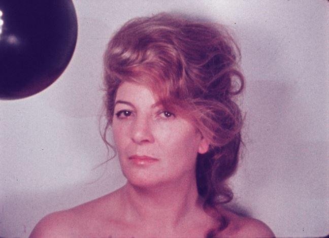 MarinellaPirelli, Doppio autoritratto [Double self-portrait] (1973–1974). Film, 16mm, digital transfer, colour, sound 13'.©Marinella Pirelli.CourtesyArchivio Marinella Pirelliand RichardSaltounGallery.