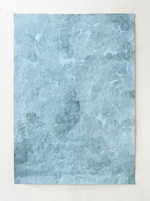 mild, beinahe verlässlich by Myriam Holme contemporary artwork painting, works on paper