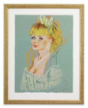 the elven Queen - Esmeralda (part of Bewitched family) by Karen Kilimnik contemporary artwork