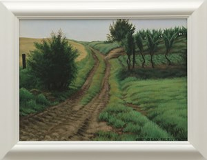 Vineyard Track by Dick Frizzell contemporary artwork