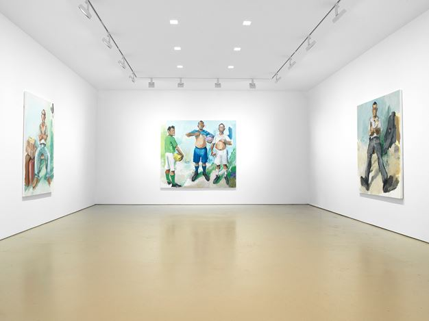 Exhibition view: John Sonsini, Miles McEnery Gallery, 520 West 21stStreet, New York (18 April–24 May 2019). Courtesy Miles McEnery Gallery.