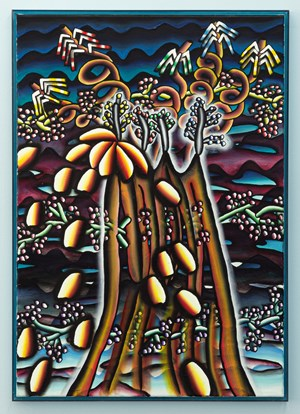 Pyroclastic flower flow/vulcano by Lisa Vlaemminck contemporary artwork