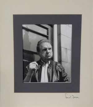 Francis Bacon outside French House Pub by Daniel Farson contemporary artwork
