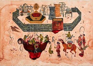 Wall by Shiva Ahmadi contemporary artwork