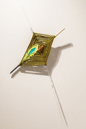 Zero by Jessica Stockholder contemporary artwork