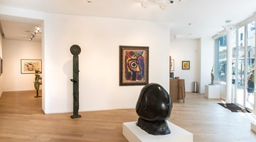 Contemporary art exhibition, Joan Miró, Femmes, oiseaux et monstres... at Galerie Lelong & Co. Paris, 13 Rue de Téhéran, Paris