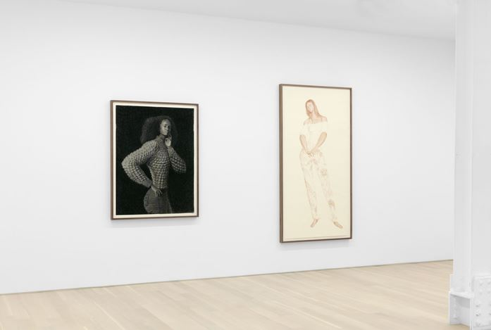 Exhibition view: Jansson Stegner, Almine Rech, New York (3 March–18 April 2020). Courtesy the Artist and Almine Rech. Photo: Matt Kroening.