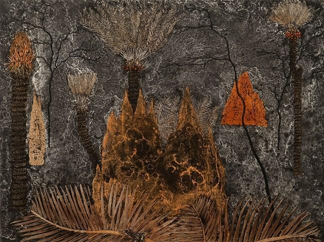 Cycads - Ngathu by Fiona Hall contemporary artwork