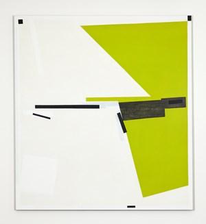Wedge Green by Lynne Eastaway contemporary artwork