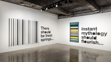 Contemporary art exhibition, Liam Gillick, There Should Be Fresh Springs... at Gallery Baton, Seoul