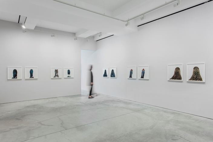 Exhibition view: Roni Horn, Hauser & Wirth, Hong Kong (27 November 2018–2 March 2019). © Roni Horn. Courtesy the artist and Hauser & Wirth. Photo: JJYPHOTO.