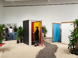 We Went to an Art Show So Immersive You Can Sleep in a Hammock