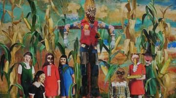 Contemporary art exhibition, Justin John Greene, Marnie Weber, Marnie Weber and Justin John Greene at Simon Lee Gallery, New York