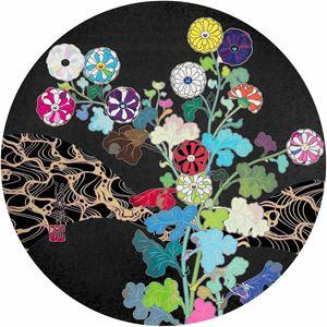 Kansei: Wildflowers Glowing in The Night by Takashi Murakami contemporary artwork
