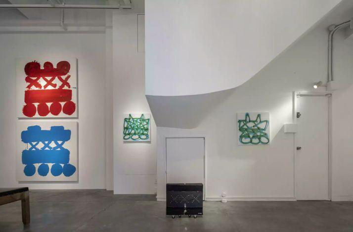 Exhibition view: Goo Nakayama, Kimihiko Hino, vol. 134 'grapheme', Nao Masaki, Nagoya (17 July–1 August). Courtesy Nao Masaki.