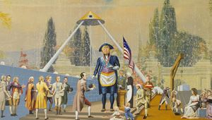 The Master Mason by Jim Shaw contemporary artwork